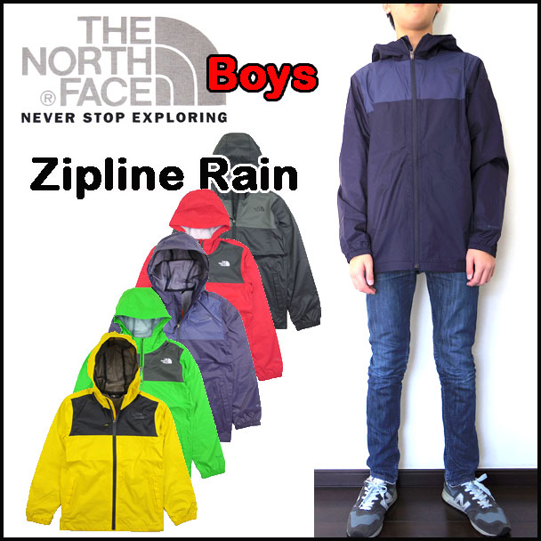 ee3f595c3a1a THE NORTH FACE  North face   kids   mountain parka   youth   child  BOYS  ZIPLINE RAIN JACKET  zip line lane jacket   windbreaker