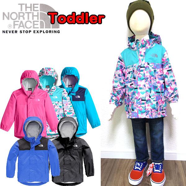 ノースフェイス THE NORTH FACE ジャケット キッズ Toddler Tailout Rain Jacket マウンテンパーカー 男の子 女の子 80 90 100 110 120cm 新色追加