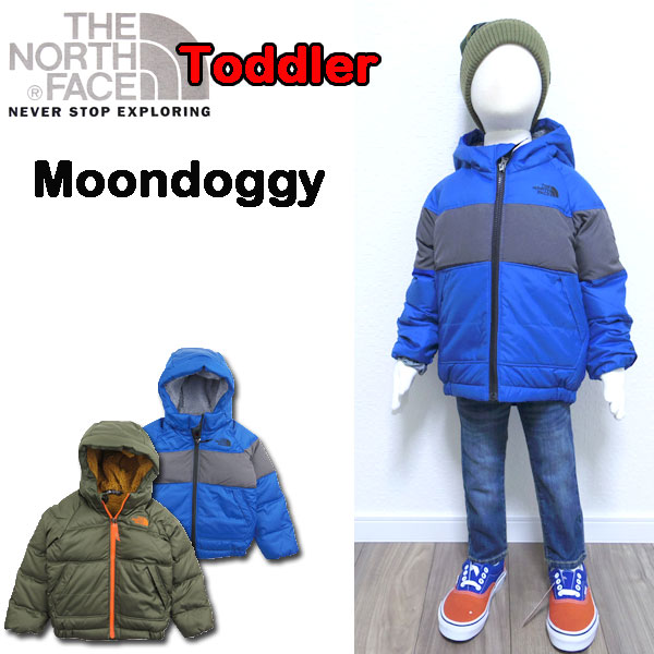 561548223938 The THE NORTH FACE  North face   kids   down jacket  Reversible Moondoggy  Jacket  child   reversible   parka   protection against the cold   outer  which ...