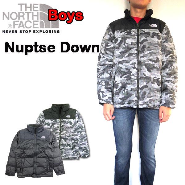 ノースフェイス キッズ ダウンジャケット ヌプシ BOYS Nuptse Down THE NORTH FACE 防寒 アウター 男の子 18新作 NF0A3CQM 120 130 140 150 160 170cm