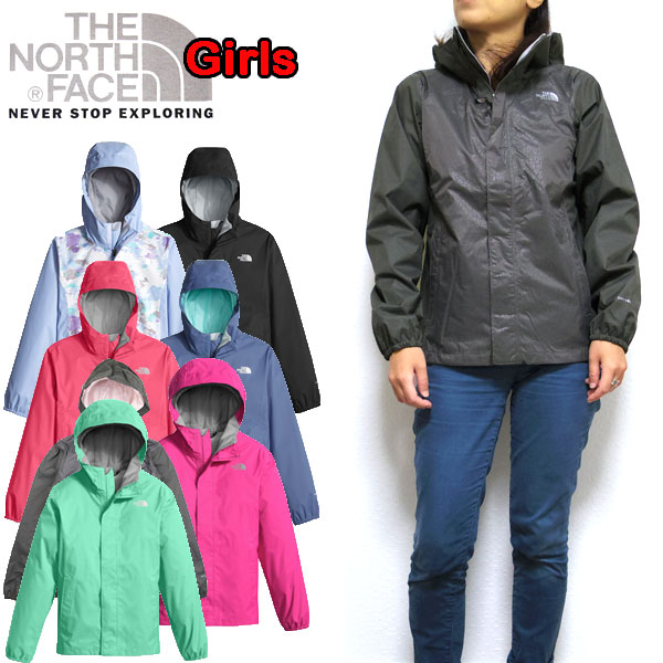 cf686cfd4 THE NORTH FACE and the R... Pink / girls resolve jacket / windbreaker /  mountain / junior / Kids / Girls RESOLVE JACKET, North face / kids /  mountain ...