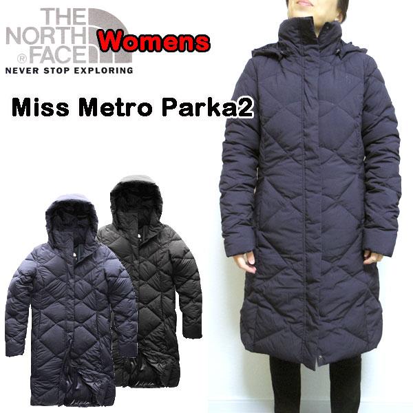 ノースフェイス レディース ダウンコート THE NORTH FACE MISS METRO PARKA 2 防寒 XS S M L XL アウター
