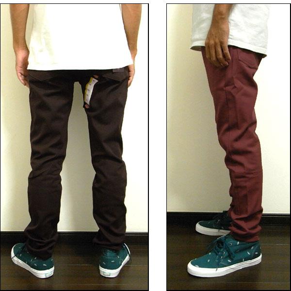 Mens Slim WP810 Skinny Trousers Dickies 4jJNDd884U
