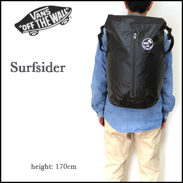 VANS/卡车/帆布背包/日包/Surfsider Backpack/冲浪汽水背包/尼龙/VN-0WCABLK 02P05Dec15