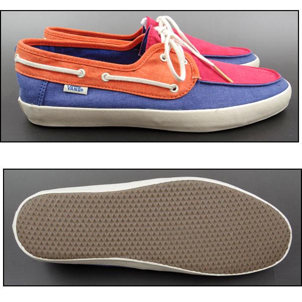 VANS/卡车/表演毛皮/运动鞋/CHAUFFEUR(Tri Tone)/人/帆布/甲板鞋/VN-0NJ8DJ4 05P03Dec16