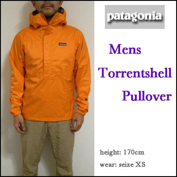 Patagonia/巴他戈尼亞/趨勢外殻套衫Parker/山Parker/茄克/#83930/Men's TORRENT SHELL PULLOVER/(804)MAN