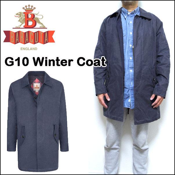 バラクータ BARACUTA G10 WINTER COAT-OILSKIN トレンチコート メンズ