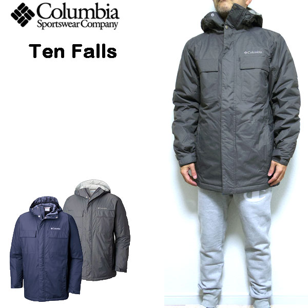 Columbian jacket men COLUMBIA Ten Falls Jacket outer cold protection batting 18FW S M L XL