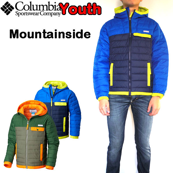 コロンビア Columbia キッズ ジャケット Mountainside Full Zip Jacket 18新作 男の子 女の子 中綿 パーカー 110 120 130 140 150 160cm