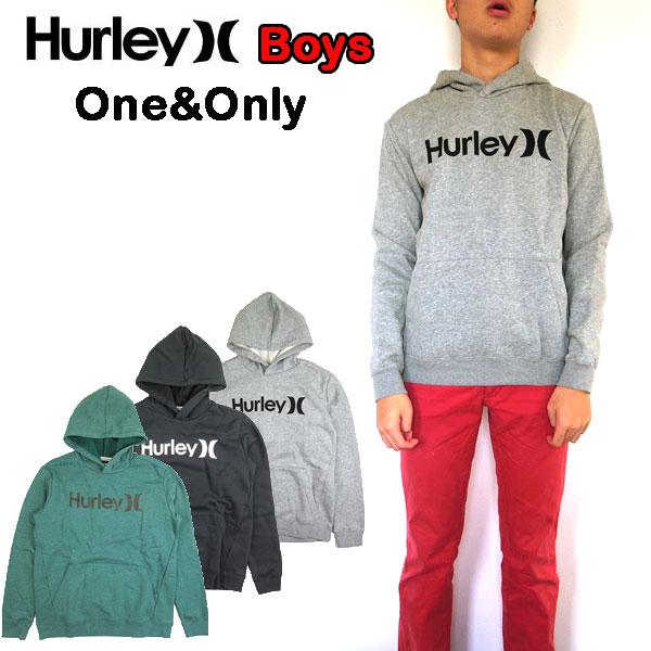 パーカー キッズ ハーレー HURLEY BOYS ONE&ONLY SURF CHECK HOOD スウェット 男の子 フード 120 130 140 150 160 170cm