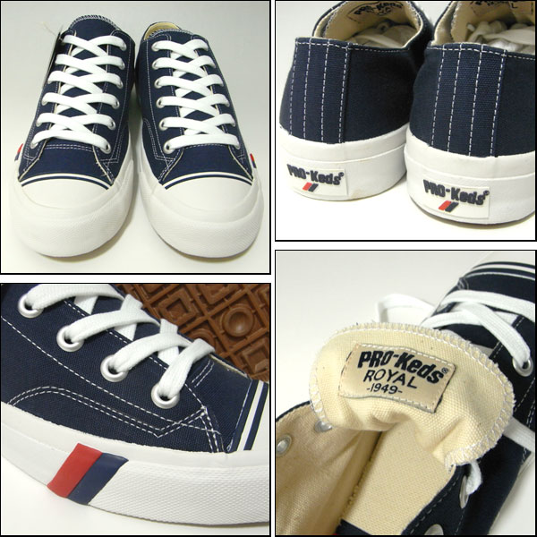 Pro-Keds/ Prokeds / low-frequency cut sneakers / royal /Throwback Pack Royal Lo/ navy (dark blue )/ low back /PMC44090)