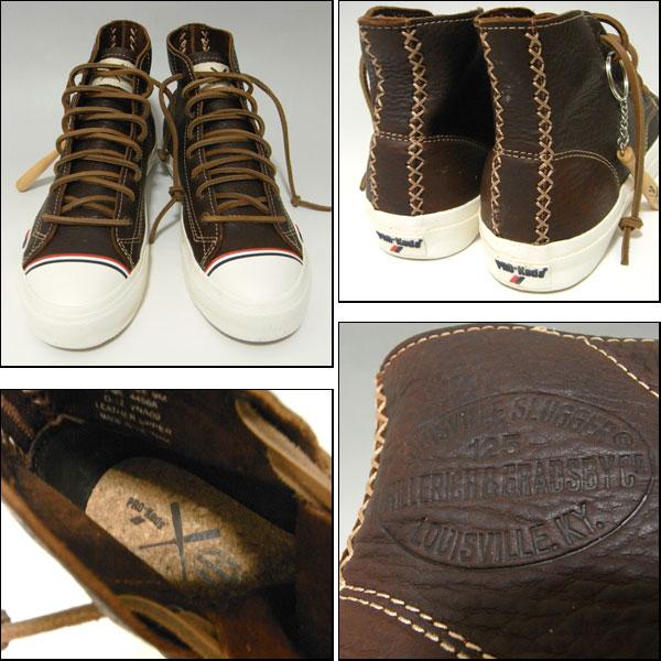 Pro-Keds/Louisville Slugger / process / sneaker / Royal Hi /Royal Hi / Brown / Louisville Slugger /PML44568