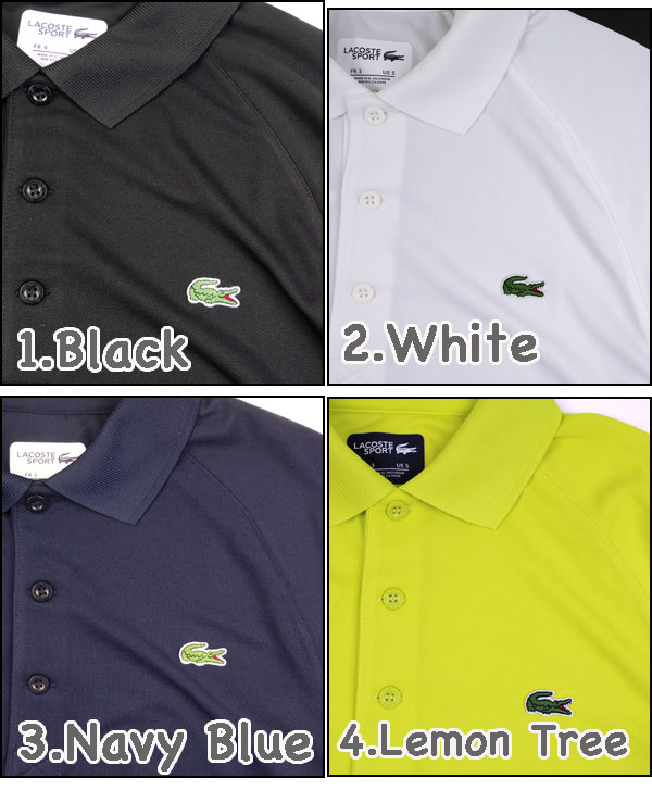 3a77b9ce1a LACOSTE / Lacoste / Polo shirts / men's /PH7423/Mens BLACK CROC POLO and  black crocodile polo shirt and big logo / ビッグクロコ / ビズポロ