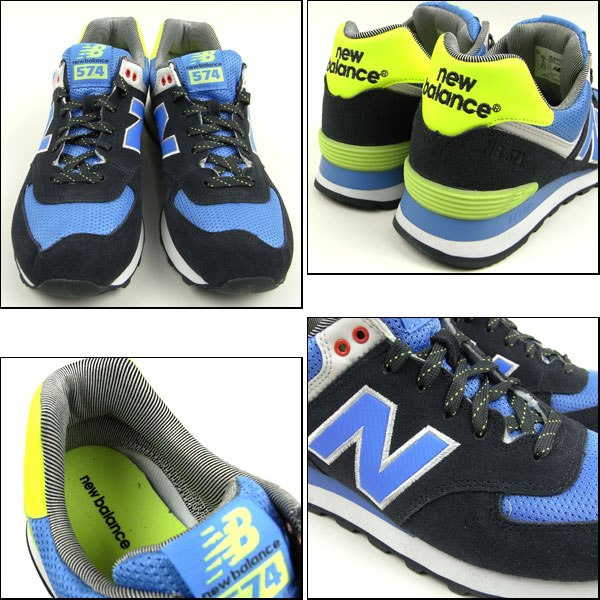 NEW BALANCE / new balance sneakers /ML574 YCN / Navy /YACHT CLUB COLLECTION