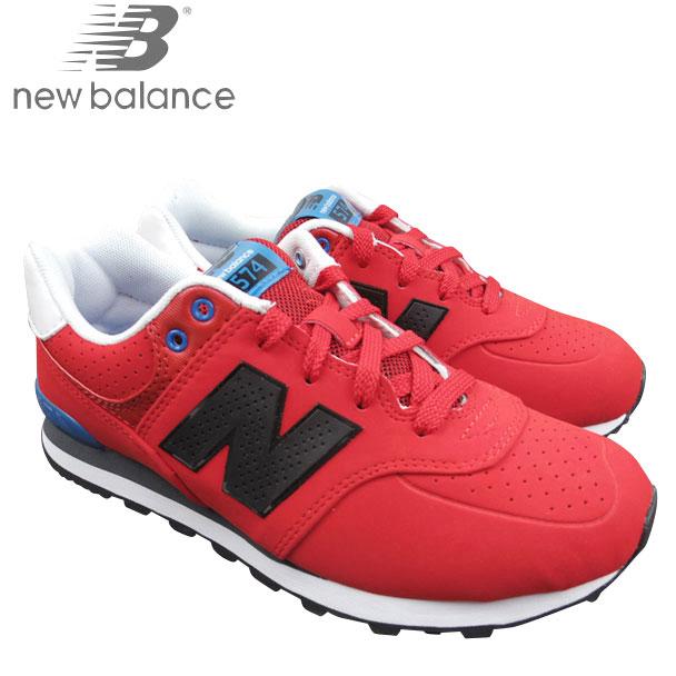 timeless design c03a8 628b5 NEW BALANCE new balance Womens kids red sneakers KL574PSG junior kids Grade  School