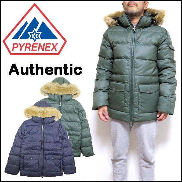 ピレネックス ダウン メンズ PYRENEX ジャケット AUTHENTIC オーセンティック MAT 17秋冬 S M L HMI004 セール