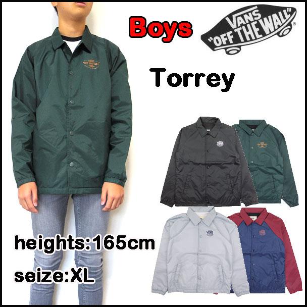 boys vans coat
