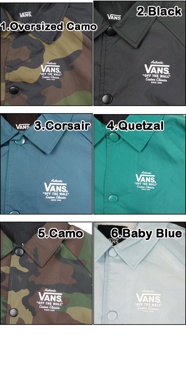 5cd1a7ecf7 reason  VANS vans kids   coaches jacket BOYS TORREY windbreaker ...