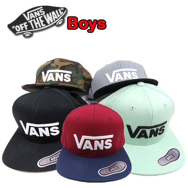 3560eacdbc VANS vans kids ' caps DIPPED SNAPBACK CAP junior kids Hat
