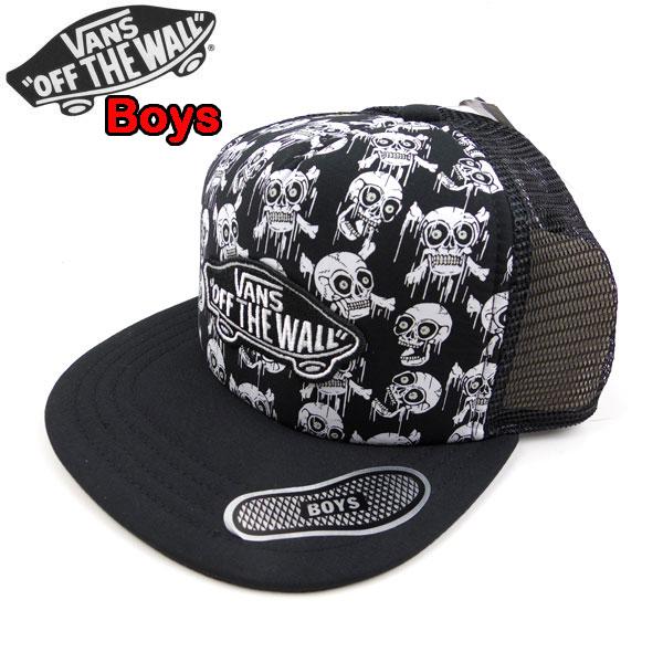 8ff7e0d048 Vans kids VANS cap hat mesh CLASSIC PATCH TRUCKER CAP trucker hat 19 new  work boy