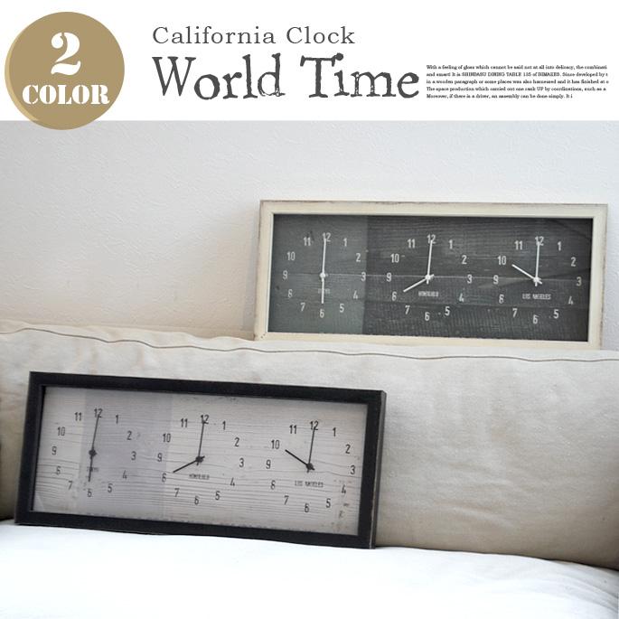 優れた品質 アメリカ西海岸を感じさせるビンテージクロック!California Clock World Time(カリフォルニアクロック World ワールドタイム) JIG(ジェイアイジー) 掛時計・ウォールクロック Clock 全2タイプ(CCC50953・CCC50954), DreamGolf:bbb00c03 --- clftranspo.dominiotemporario.com