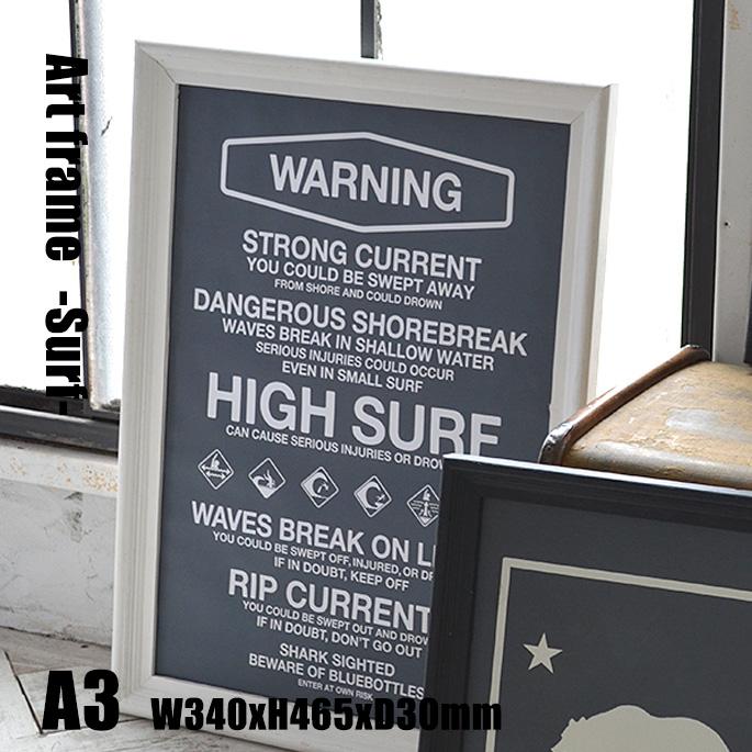 Art Frame Surf(アートフレーム サーフ) A3 size 白フレーム TR-4197(SU) ARTWORKSTUDIO(アートワークスタジオ) 送料無料