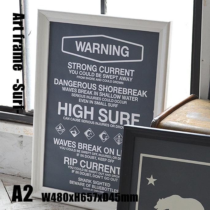 Art Frame Surf(アートフレーム サーフ) A2 size 白フレーム TR-4198(SU) ARTWORKSTUDIO(アートワークスタジオ) 送料無料