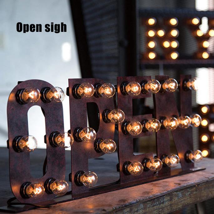 サインランプ アートワークスタジオ Sign Lamp OPEN(サインランプ オープン) AW-0403V 送料無料 ARTWORKSTUDIO