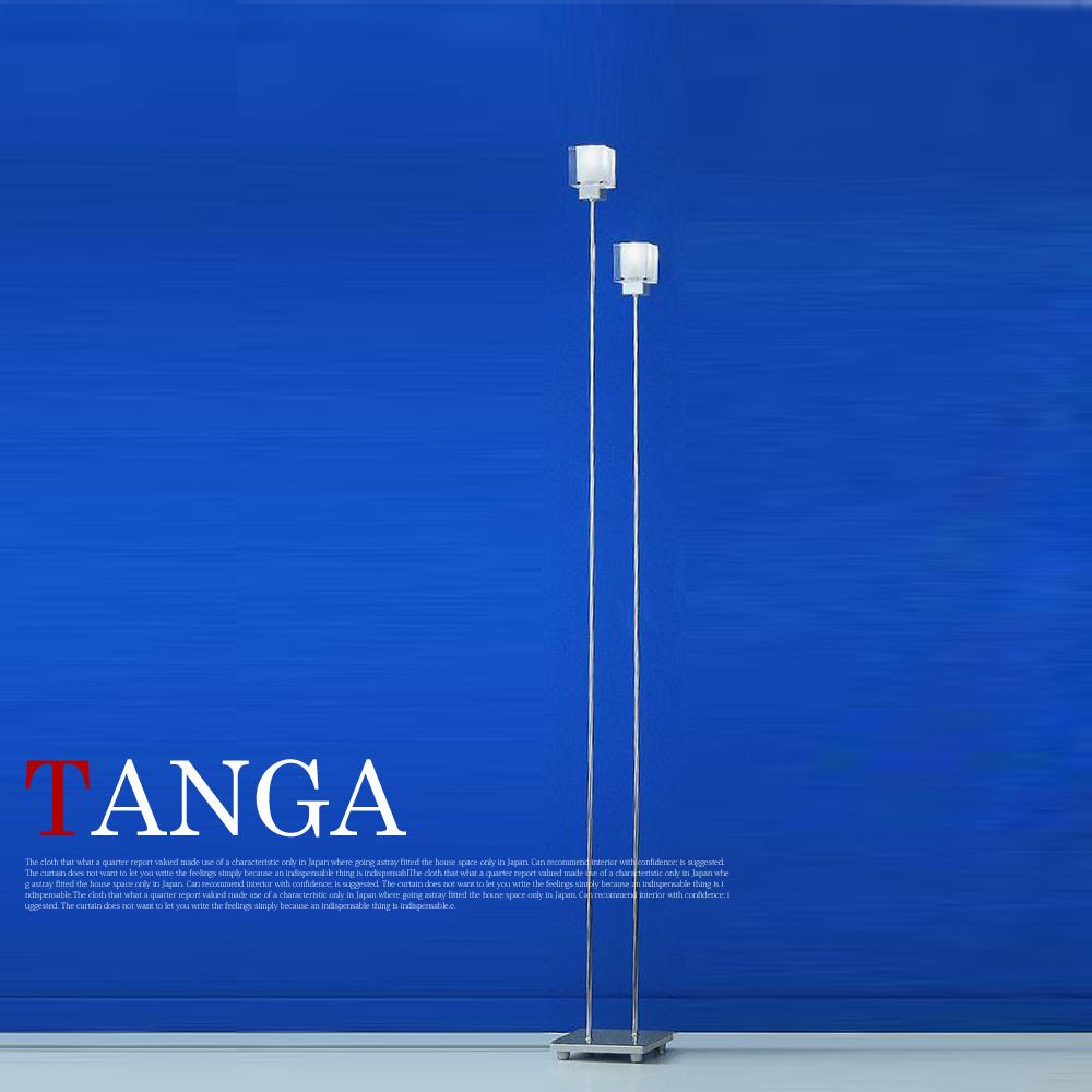 光輝くクリスタルガラスセード☆ タンガ(TANGA) フロアスタンド エグロ(EGLO) 84093J 送料無料