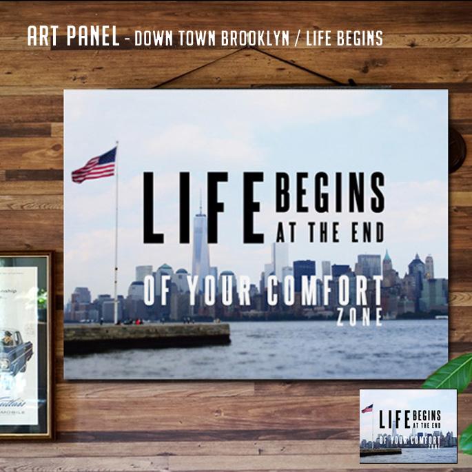 Life Begins PANEL(ライフビギンズパネル) IAP52279 アートフレーム