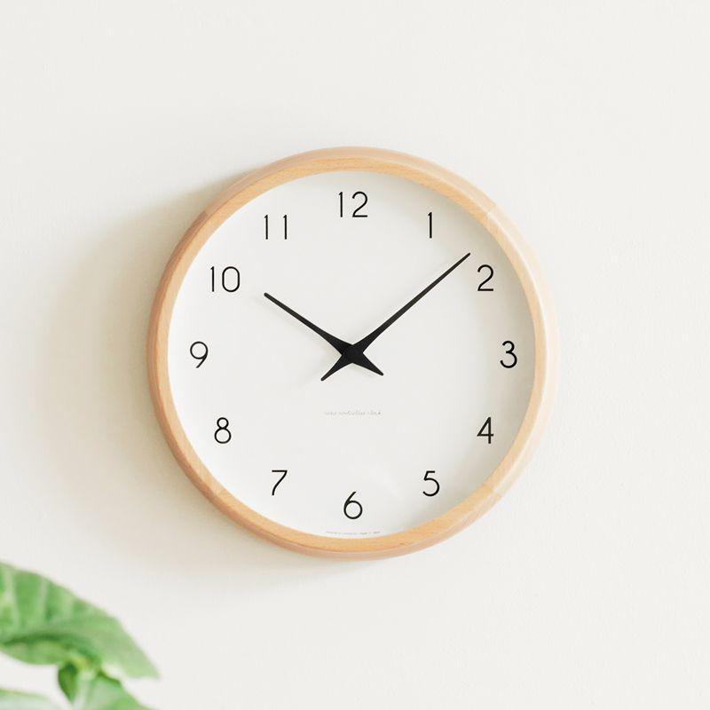 電波時計 掛け時計 Campagne カンパーニュ 北欧 ナチュラル 木製 あす楽対応