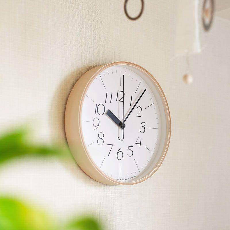 【新品、本物、当店在庫だから安心】 掛け時計 RIKI CLOCK 細字タイプ Lサイズ 電波時計 おしゃれ 木製 リキクロック 北欧 ナチュラル リキクロック シンプル 木製 おしゃれ あす楽対応, 介護食のさいわい便:5203c3e8 --- canoncity.azurewebsites.net
