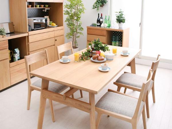 Moti ダイニングテーブル5点セット 北欧 シンプル ナチュラル 木製 おしゃれ 送料無料 日時指定不可 即日出荷可能