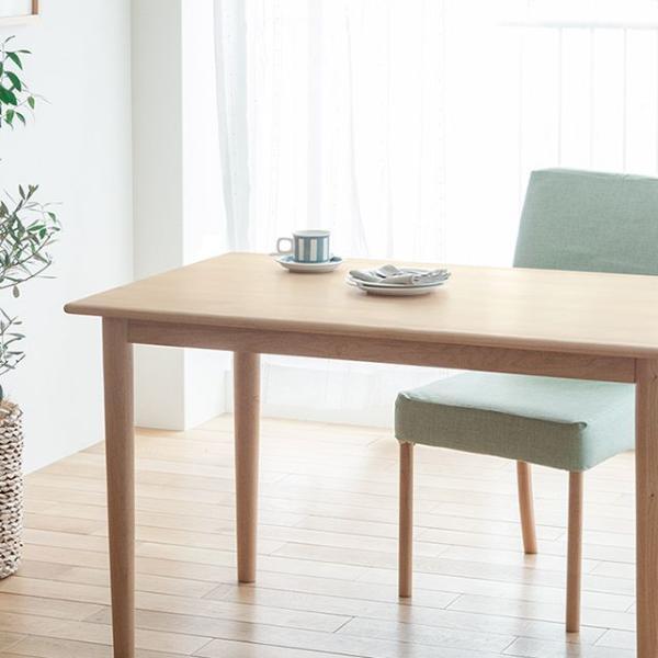 ADAL ダイニングテーブル Sサイズ 北欧 ナチュラル 木製 120 2人 4人 おしゃれ 送料無料【日時指定不可】