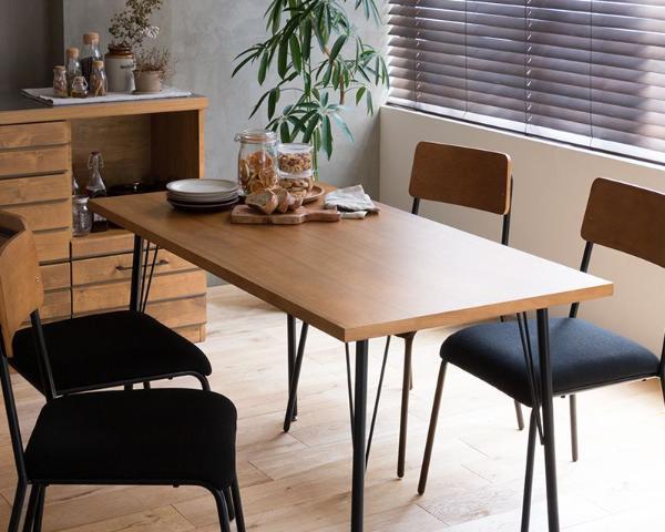 ダイニングテーブル CINERARIA ヴィンテージ インダストリアル 西海岸 北欧 木製 おしゃれ 送料無料