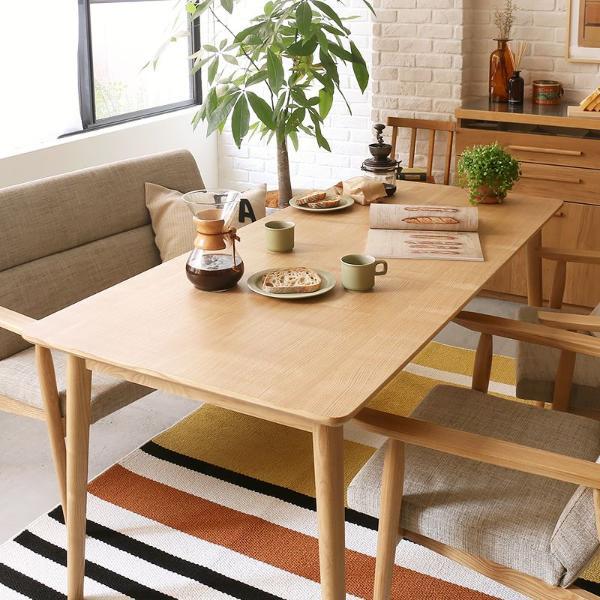 ダイニングテーブル Cory 160 北欧 ナチュラル 西海岸 アッシュ 木製 おしゃれ 送料無料 【開梱・設置付き】