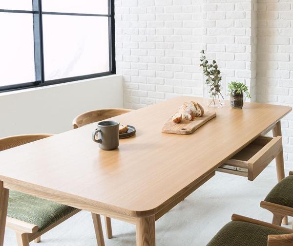 ダイニングテーブル Henry 西海岸 北欧 ナチュラル 木製 150 おしゃれ 送料無料 【開梱・設置付き】