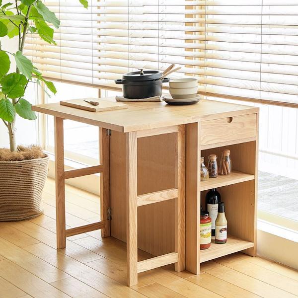 伸縮 ダイニングテーブル Oulu 北欧 ナチュラル 木製 伸長式 おしゃれ 送料無料 即日出荷可能