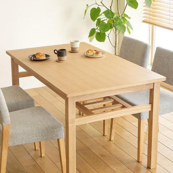 ダイニングテーブル Oulu 北欧 ナチュラル 木製 4人用 おしゃれ 送料無料 即日出荷可能 【4/24以降の注文は、5/7以降順次出荷】