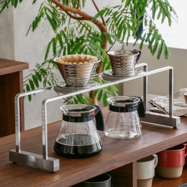 NPS コーヒー ドリッパースタンド ライトタイプ ワイド 7.5cm ドリップスタンド ステンレス オーダー 日本製 送料無料 最短7~10日後出荷