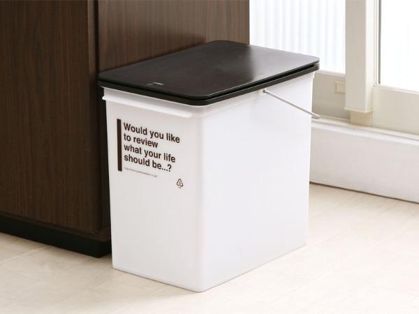 ゴミ箱 ダストボックス キッチン カフェ 北欧 ナチュラル CAFESTYLE プッシュダスト Sサイズ おしゃれ おすすめ