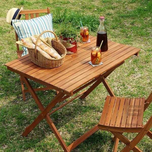 ガーデン テーブル 折りたたみ 折りたたみ 木製 屋外 ガーデンテーブル Byron ガーデン Byron 折りたたみ テーブル Lおしゃれ即日出荷可能, 金武町:343d01e8 --- officewill.xsrv.jp