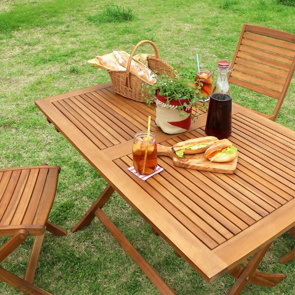 ガーデン ガーデンテーブル Ninoおしゃれ 折りたたみ テーブル 折りたたみ 木製 屋外 ガーデンテーブル Ninoおしゃれ 送料無料(送料込)即日出荷可能, 輸入家具 マイセレクト:b2da69a0 --- officewill.xsrv.jp