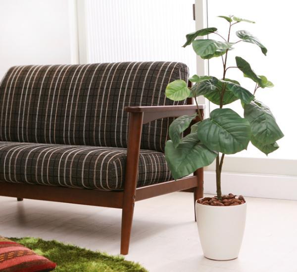 光触媒 観葉植物 フェイクグリーン ウンベラータ Lサイズ 消臭 送料無料