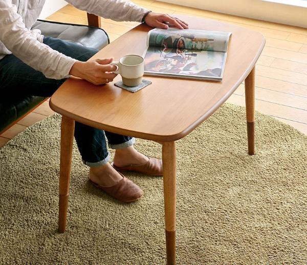 こたつ テーブル ハイタイプ 一人用 ハイ 北欧 ヴィンテージ 西海岸 ナチュラル 長方形 90 コンパクト おしゃれ Atika 送料無料 即日出荷可能