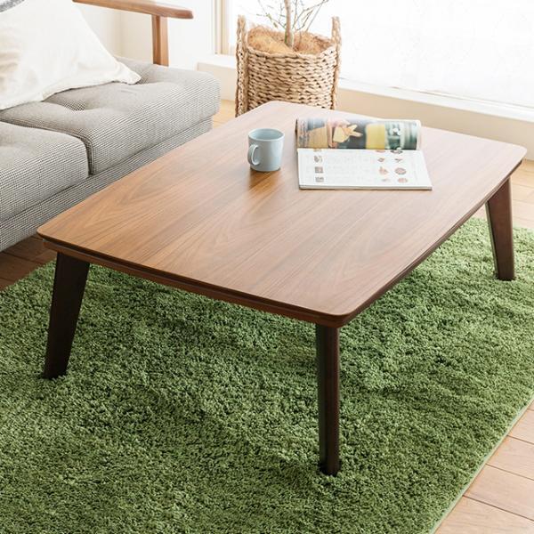 こたつ テーブル PINON 長方形 105 北欧 ヴィンテージ 西海岸 木製 おしゃれ 送料無料 即日出荷可能
