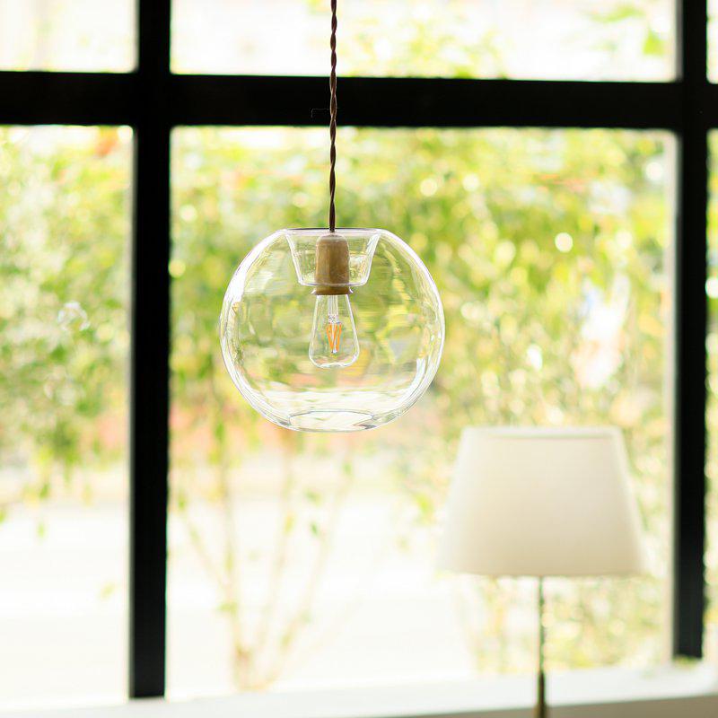 ペンダントライト 天井照明 ICON ガラス LED電球 真鍮 led モダン ダイニング リビング おしゃれ あす楽対応