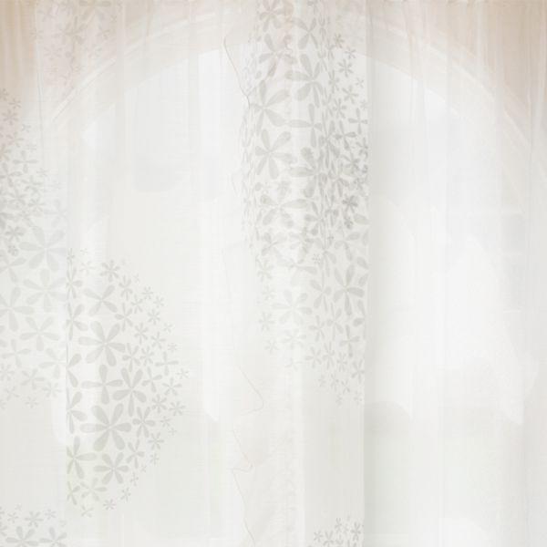 オーダー レースカーテン Sion Silhouette (幅200/400cm×丈145cm-200cm) オーダーカーテン レース おしゃれ