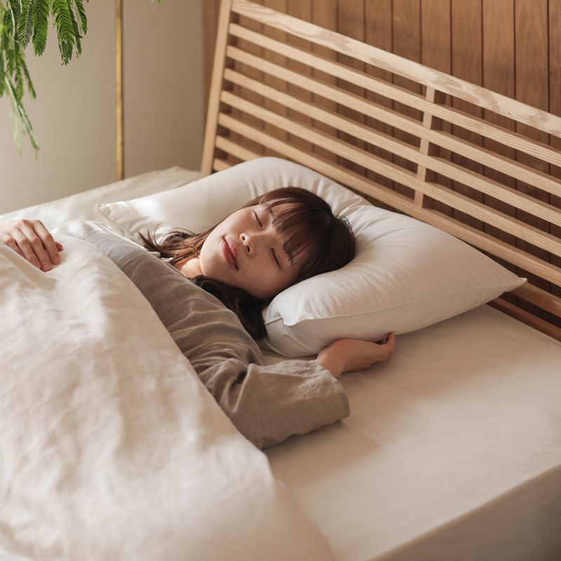 枕 ピロー 日本製 国産 ダウン ピロー Lサイズ 50×70