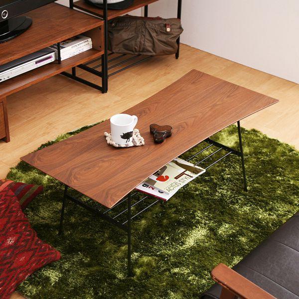 テーブル センターテーブル anthem2391 北欧 ヴィンテージ ビンテージ ブラウン 木製 おしゃれ 夜間お届け不可/日/祝日配達不可
